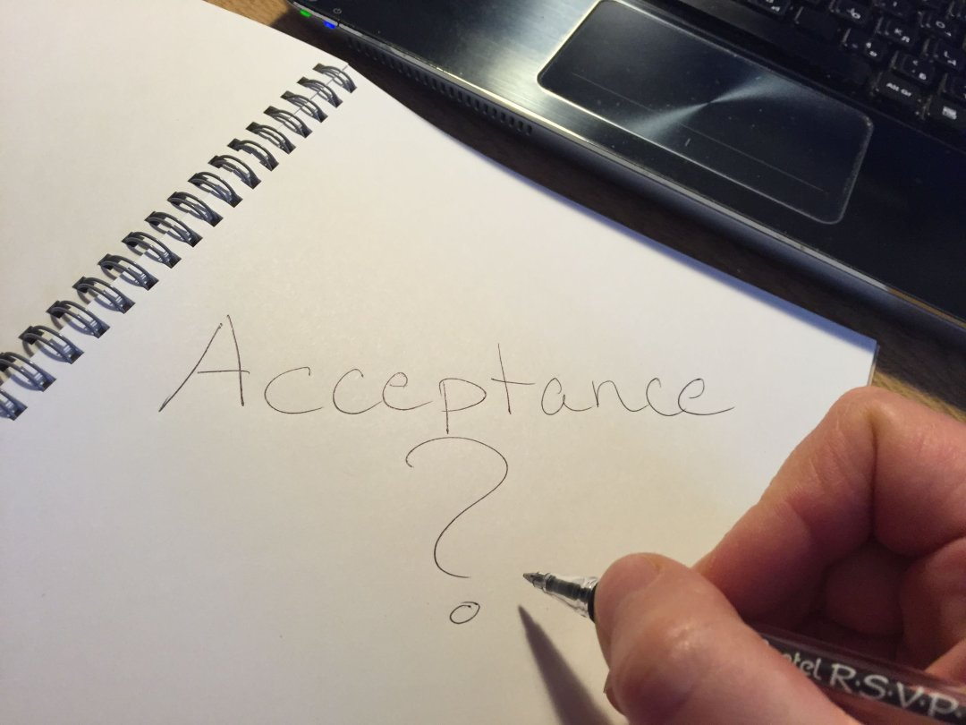 Acceptance of a life-changing health issue