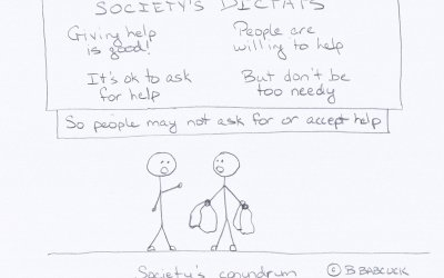 Why asking for help is so hard: Because being 'needy' is not good
