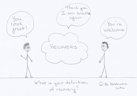 """alt txt=""""recovery stripped of its assumptions and stigmas"""""""