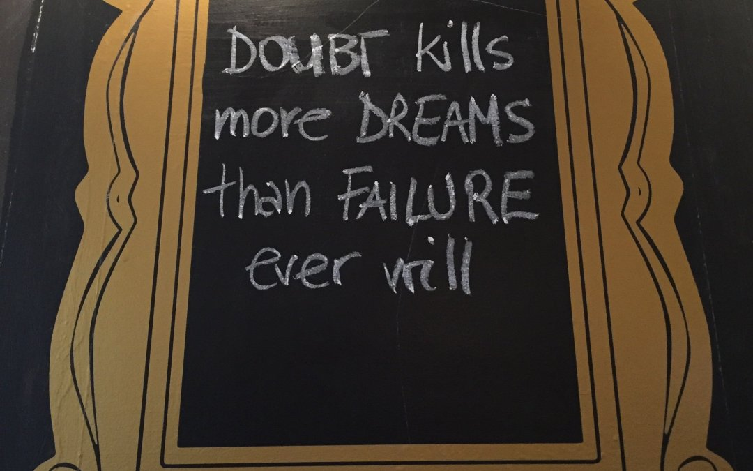 Does your self-doubt kill your New Year's resolutions?