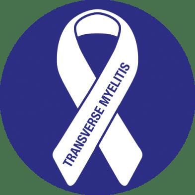 Awareness ribbon for Transverse Myelitis