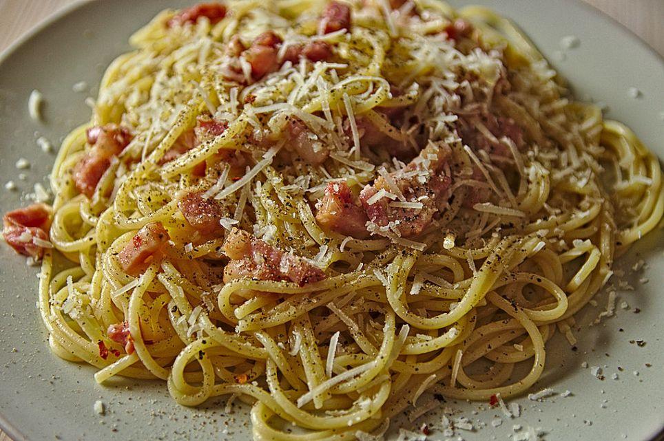 Spaghettie alla gricia