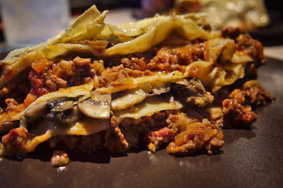 Lasagne Gialle Bolognesi