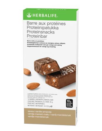 Barres aux protéines Vanille amande Herbalife