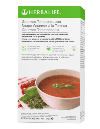 Soupe gourmet à la tomate Herbalife