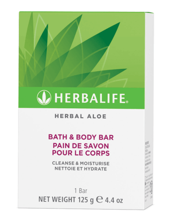 Pain de Savon Herbal Aloe Herbalife Ile Réunion