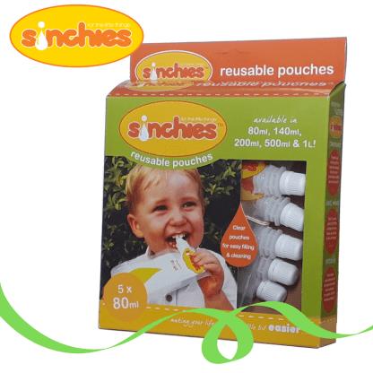 80ml reusable pouch sinchies