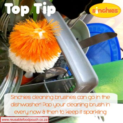 cleaning brush tip