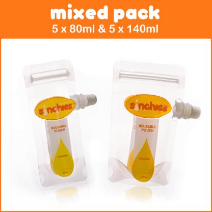 mixed pack 80ml 140ml