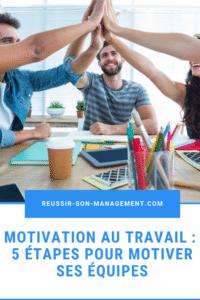 Motivation au travail: 5 étapes pour motiver ses équipes
