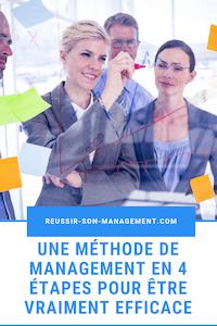 Une méthode de management en 4 étapes pour être vraiment efficace