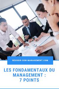 Les fondamentaux du management: 7 points