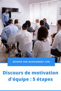Discours de motivation d'équipe : comment s'y prendre ?