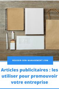 Articles publicitaires: les utiliser pour promouvoir votre entreprise