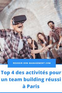 Top4 des activités pour un team building réussi à Paris