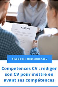 Compétences CV: rédiger son CV pour mettre en avant ses compétences