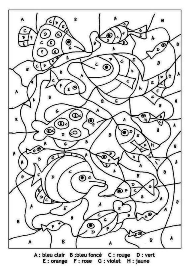 coloriage magique alphabet maternelle