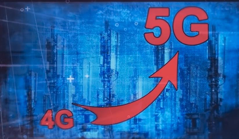 Un saut quantique ce passage de la 4 à la 5G