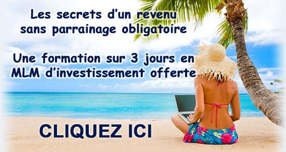 Secrets d'un revenu sur page contact