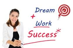 Rêves + action = succès