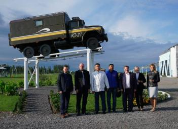 informations Skyway: Délégation du Kirgizistan