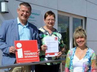 "Tourismuszentrum Zeulenrodaer Meer mit ""I-Marke"" zertifiziert"