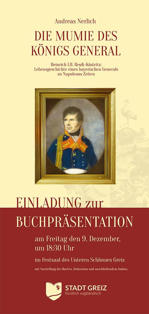 Plakat zur Buchpräsentation