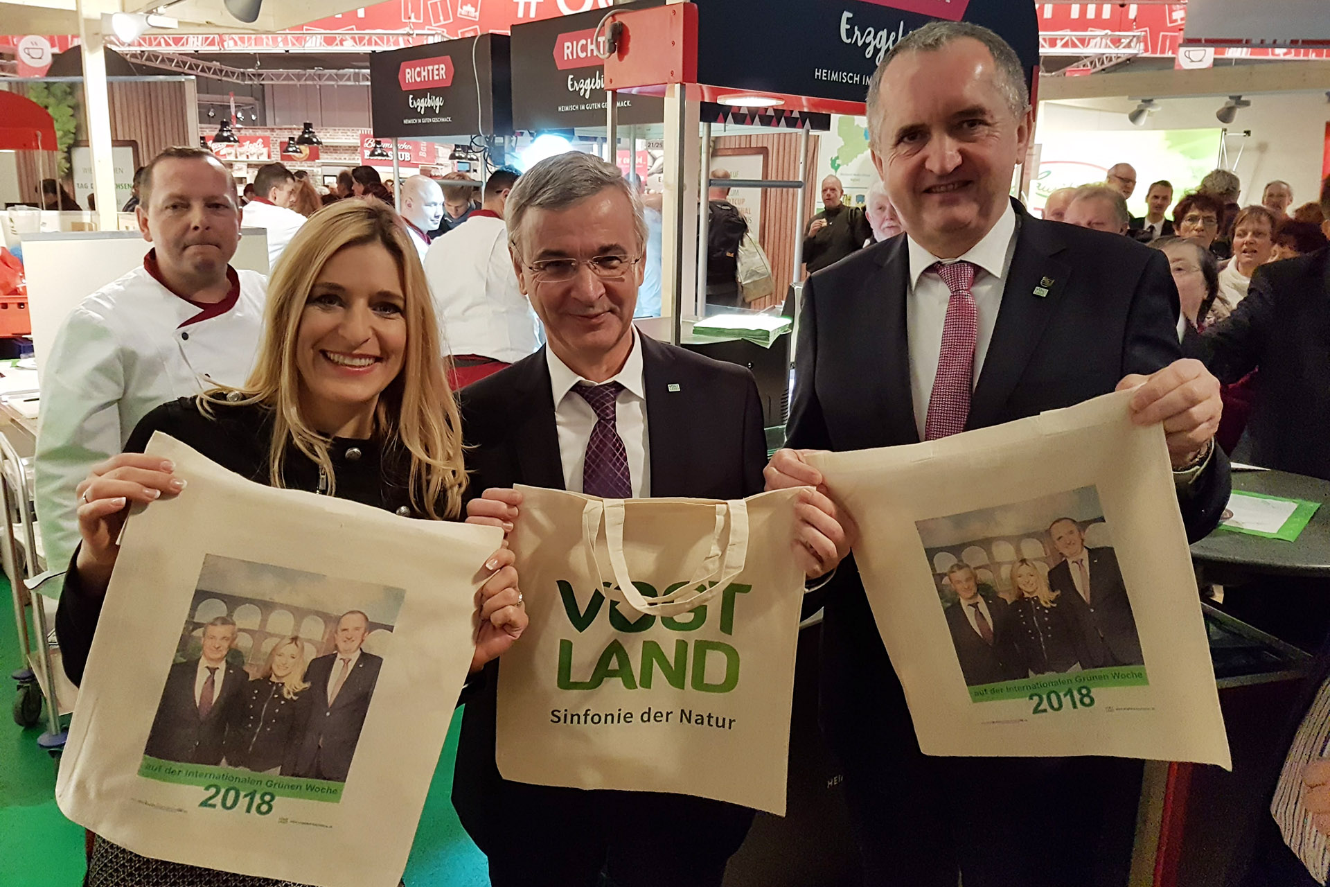 Internationale Grüne Woche: Vogtland stellt sich als Partnerregion des sächsischen Ländertages vor