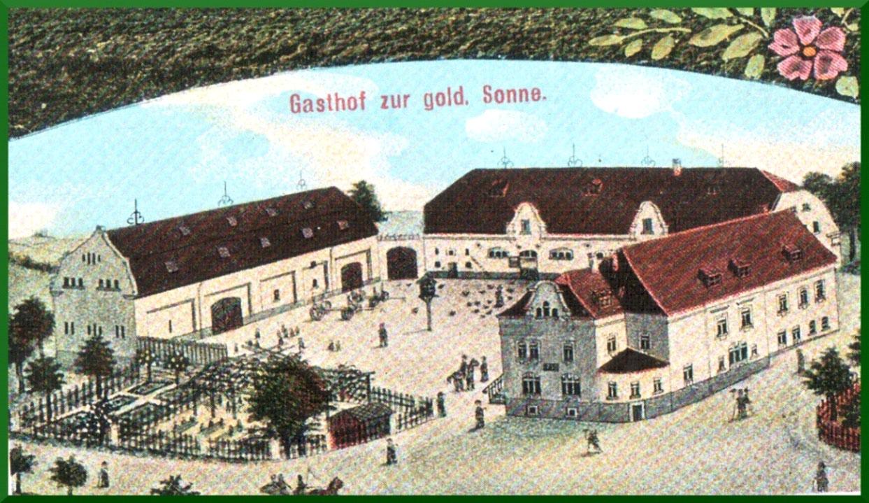 Postkarte von 1919