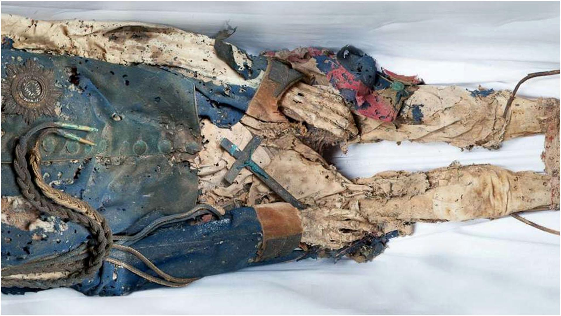 Die Mumie von Heinrich LII. Reuß Köstritz jüngerer Linie.