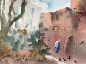 place_rively-aquarelle-antibes