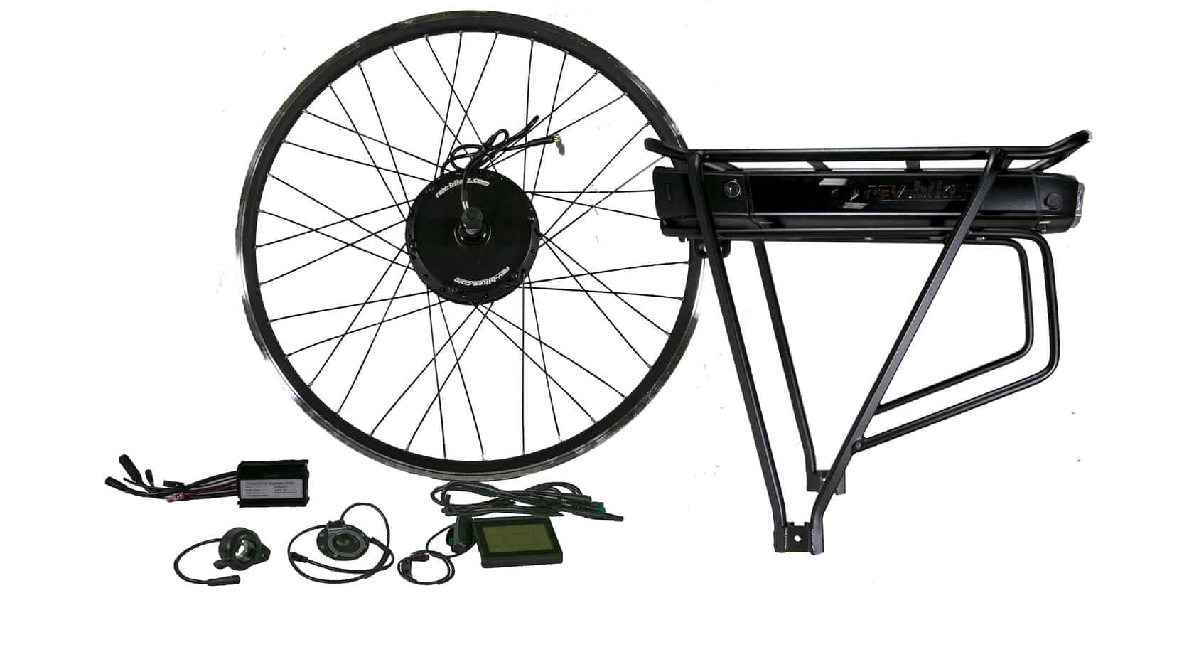 500w Hub Motor Kit With Battery Rev Electric Bikes