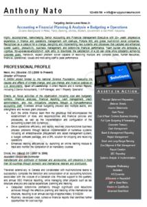 c-level-resume