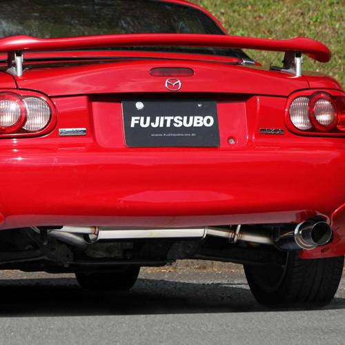 fujitsubo power getter exhaust for miata mx 5 nb rev9