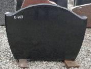 Hauakivi: K 409 (kõrgus50cm./laius70cm.)