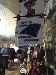 Panther flag in market