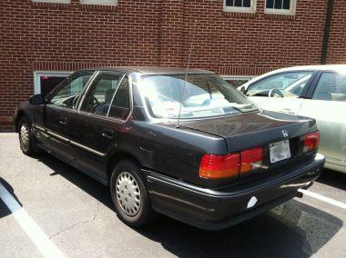 My old Honda.