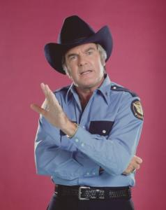 James Best, the actor who portrayed Rosco P. Coltrane