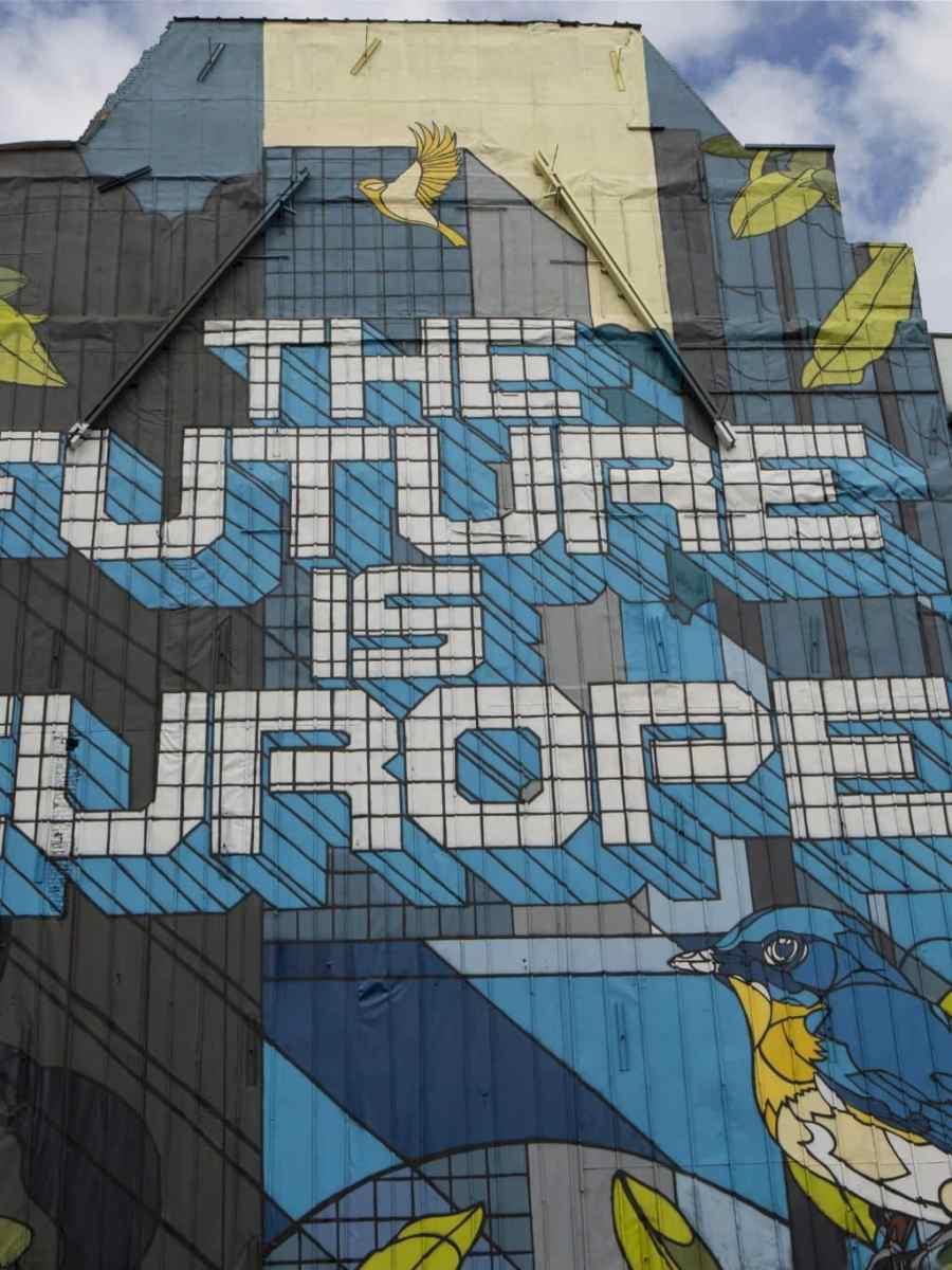 Fresco created by NovaDead, powered by ATENOR in Rue de la Loi in Brussels