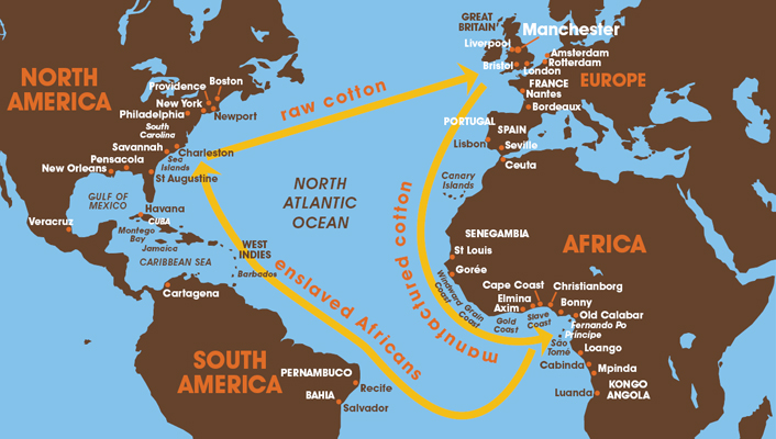 The Triangular Trade: APUSH Topics to Study for Test Day - Magoosh Blog | High School