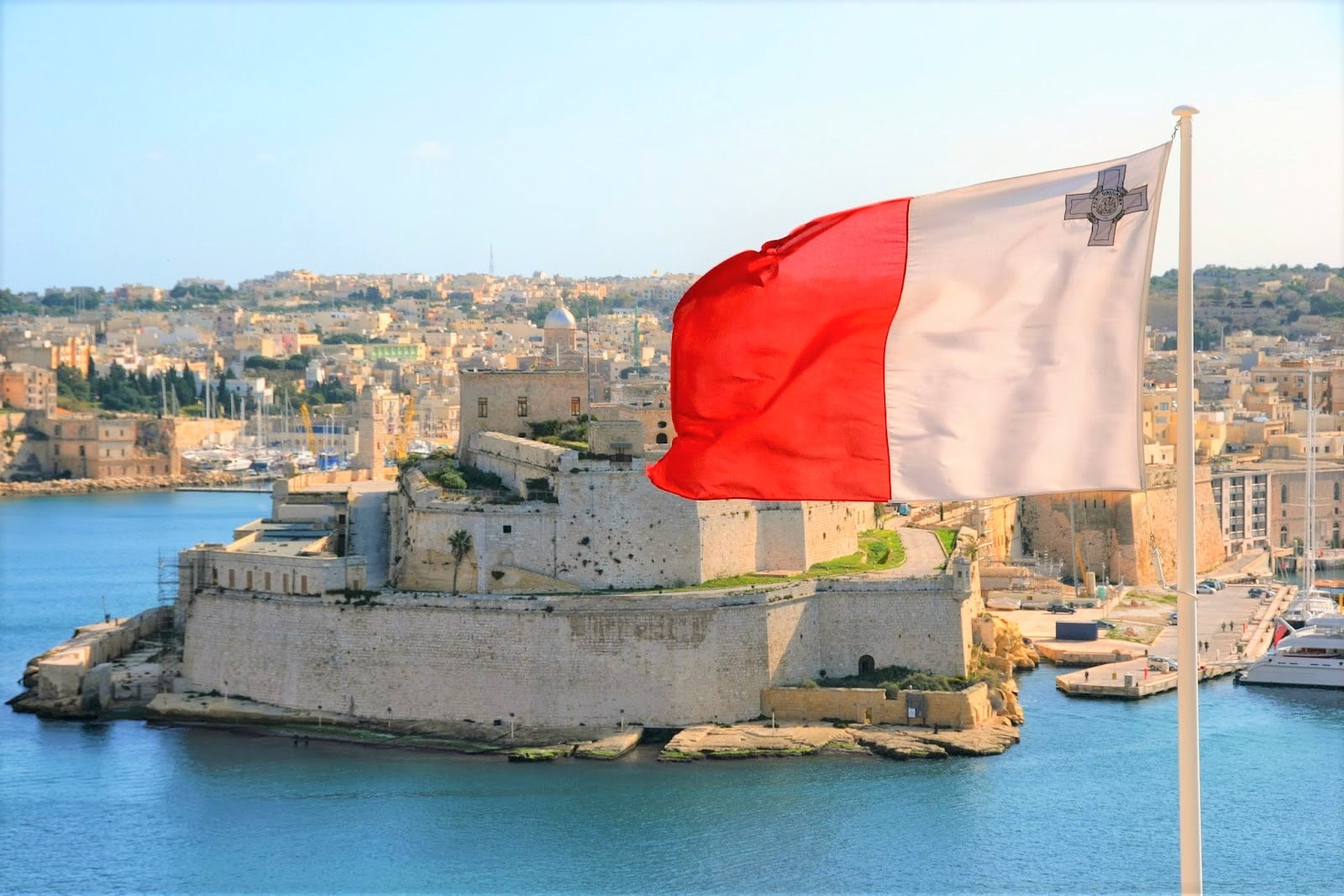 History Behind the Maltese Flag - Reveal Malta
