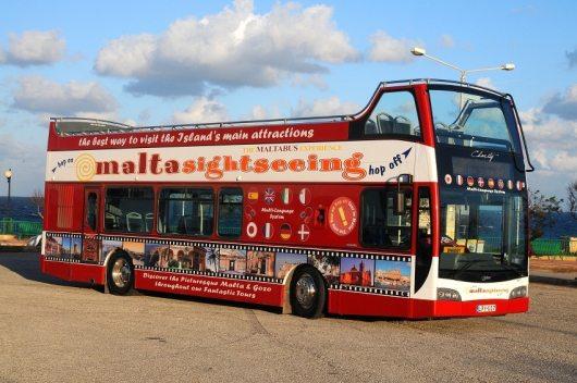 Malta Hop On Hop Off Bus Tour