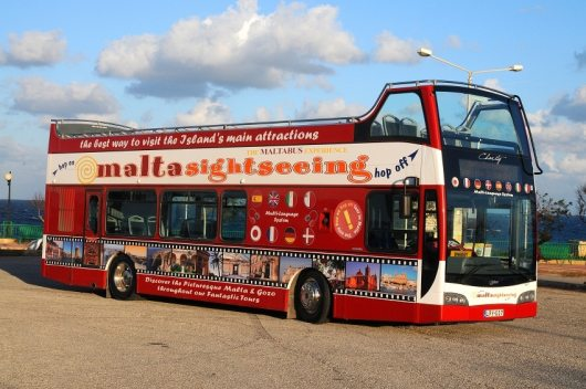 Malta Hop On Hop Off Bus Tour