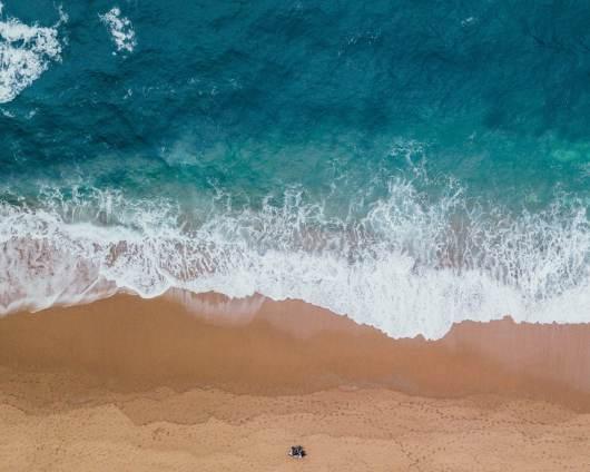 Beach during summer