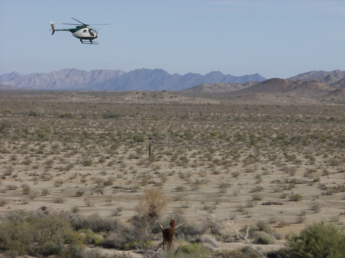 Arizona law enforcement agencies could expand their presence along the state's U.S - Mexico border under a proposal by Gov. Doug Ducey