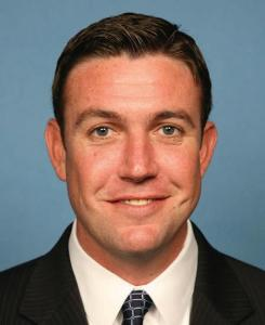 Official portrait of Rep. Duncan Hunter, R-Calif.
