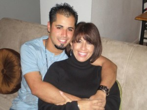 Alexander Caballero and his mother, Sandra Lanier. Caballero was 25 when he was killed in an explosion at a VT Halter shipyard.