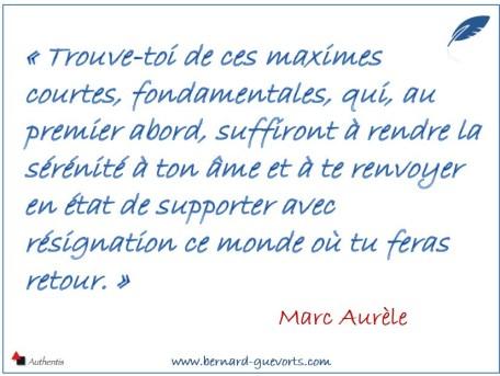 Citation de Marc Aurèle sur les citations