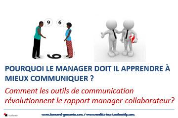 Le manager doit mieux communiquer