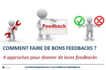 4 approches de bon feedback